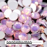 Стразы стекло, ss6 Pink Opal, 1440 шт, аналог Swarovski