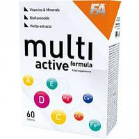 Витамины и минералы Fitness Authority MultiActive Formula (60 tabs)