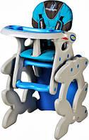 Стульчик трансформер для кормления Caretero Primus Blue
