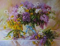 «Чудесный май» картина маслом