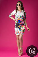 Модное женское платье Весна белое