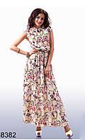 Длинное платье лето - 8382