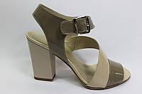 Элегантные кожаные босоножки ТМ Камея
