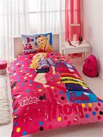 Постельное белье TAC Дисней Barbie Face of Fashion 160*220 н. 50*70 (подростковое)