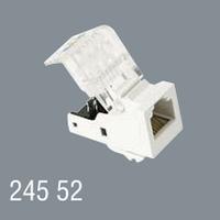 Розетка информационная RJ-11 12 телефонная кат.3 CAT3 модульная установка в люк кабель-канал настенный бокс