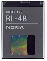 Аккумулятор  BL-4B для Nokia 2630 2760 5000 7070 Prism 7373 7500 Prism N76 700 mah