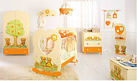 Комплект мебели для детской комнаты Baby Expert Cuore