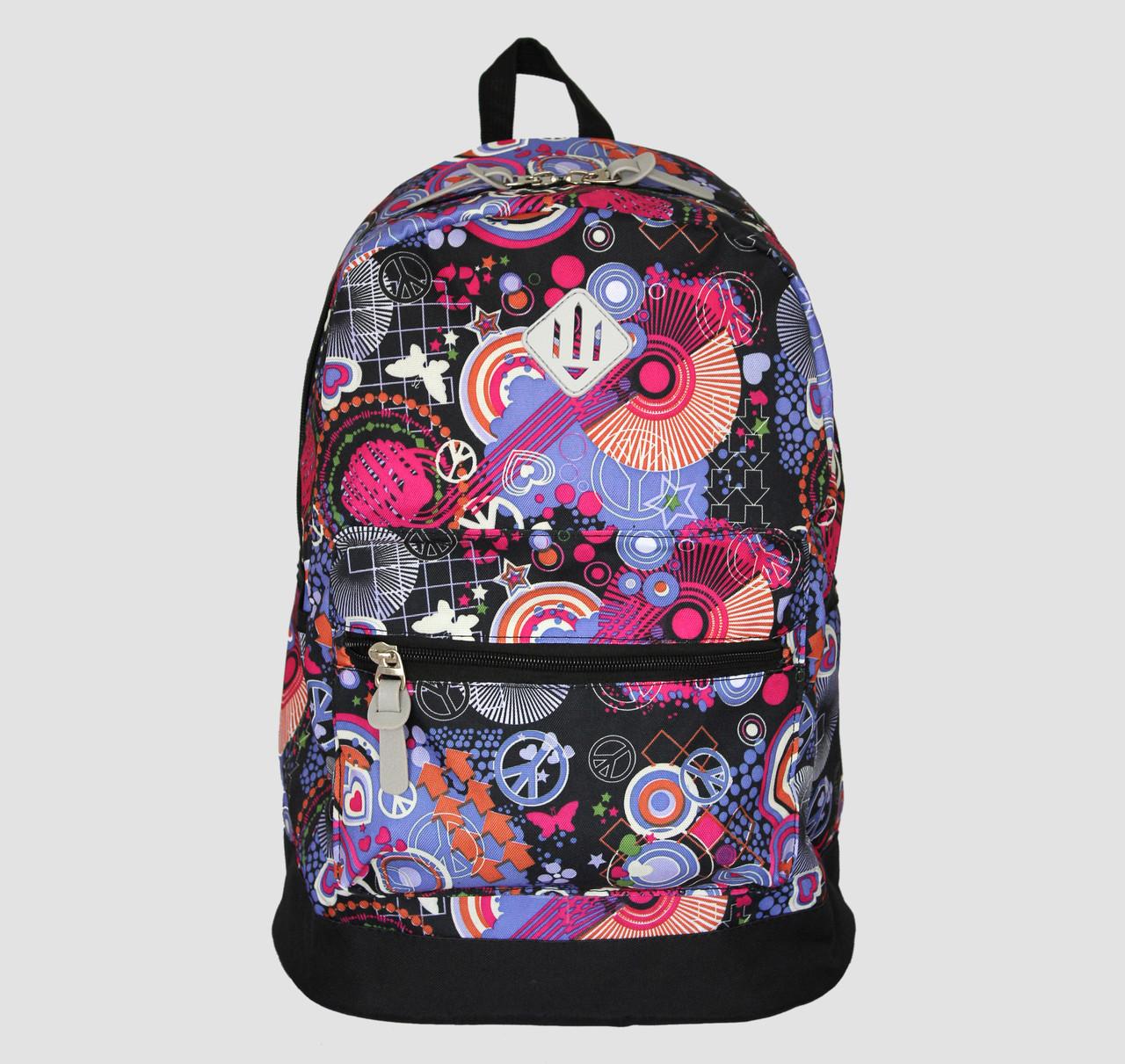 рюкзак із абстракцією