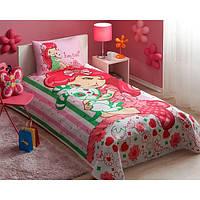 Постельное белье для подростков TAC Пике Strawberry Best Friend Baby (летнее покрывало)