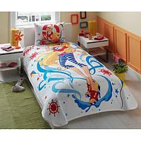 Постельное белье для подростков TAC Пике Winx Stella Ocean (летнее покрывало)
