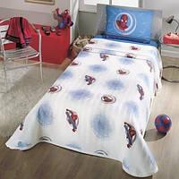 Постельное белье для подростков TAC Пике Spiderman (летнее покрывало)
