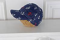 """Детская летняя кепка """"Морская"""" для мальчика"""