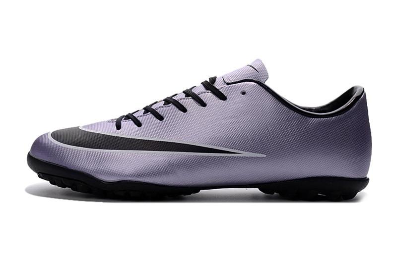 Футбольные сороконожки Nike Mercurial Victory V TF Urban Lilac/Black/Bright Mango/White