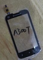 Оригинальный тачскрин / сенсор (сенсорное стекло) для Lenovo A300t (черный цвет)