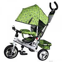 Велосипед трехколесный Turbo trike 5363-2-2 зеленый