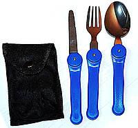 Набор походный №2: Вилка, ложка, нож . тт.