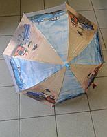 """Детский зонт красивый с фотографией """"Тачки"""""""