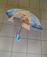 """Детский зонт трость с фотографией """"Тачки"""""""