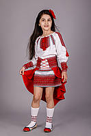 Шикарный детский вышитый костюм для девочки