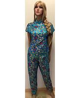 Костюм пижама KR-1817 №017 (голубой)
