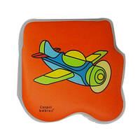 Игрушка-книжка мягкая с пищалкой Самолет Canpol Babies