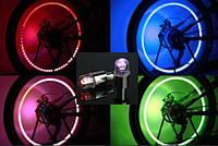 Многоцветная сенсорная диодная подсветка.Светодиодные колпачки на ниппель колеса 50 грн пара