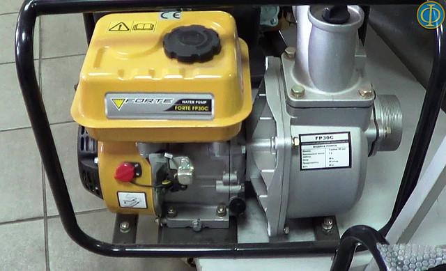 Бензиновая мотопомпа Forte FP30C фото 1