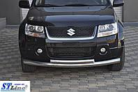 Передний двойной ус ST008 Renault Sandero Stepway 2013+