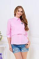Молодежная стильная блузка