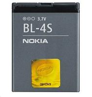 Аккумулятор  BL-4S для Nokia 2680 slide 3600 slide 3710 fold 7020 7100 Supernova 860 mAh