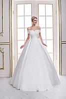 Роскошное свадебное платье А-силуэта в стиле Анджелики