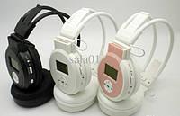 Наушники беспроводные EJ 188 со встроенным MP3 плеером + дисплей