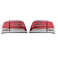 Задние фонари Lexus LX570 диодные (красные)