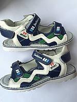 Детские сандали ортопедические кожаные для мальчика