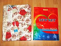 Електропростынь  двуспальная, 140х155см,KET ELECTRIC(электроодеяло,  грелка, электропростынь),сатин.
