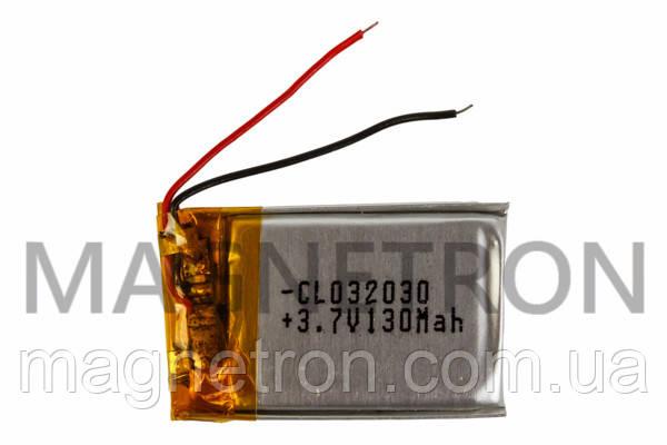 Аккумулятор литий-полимерный CL 032030 3,7V 130 mAh 20x31mm, фото 2