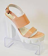 Женские босоножки на высоком каблуке Nivelle 1704
