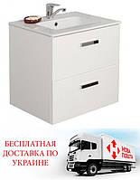 Шкафчик с умывальником Roca Victoria белый 60 см 855854806