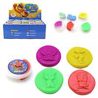 Жвачка для рук  Hand Gum (умный пластилин) 5 шт. цвет на выбор