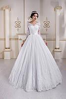 Деликатно изысканное свадебное платье, сотканное с тончайшего кружева