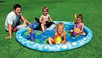 """Детский надувной бассейн Intex 57448 """"Морской пейзаж"""""""