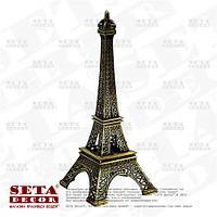 Эйфелева башня металлическая фигурка под бронзу