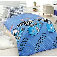 Постельное белье для подростков Eponj Home Jet Araba Mavi