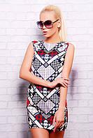 Женские летние платья от производителя харьков | Pied-de-Poule платье Лея-1 б/р