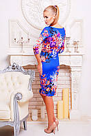 Женские платья от производителя | Осенний букет платье Лоя-1Ф д/р