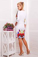 Стильные летние платья   Маки платье Эльза французский трикотаж
