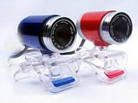 Веб-камера 0.3 Мп PRC HD 890 без микрофона Blue (без микрофона)