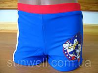 Детские плавки для мальчика Соник 3-8лет, Sun City