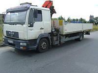 Аренда крана-манипулятора MAN 5 тонн в Днепропетровске