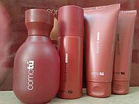 Набор парфюмированый Гель для душа, Молочко для тела, Дезодорант, Духи COMO TÚ AMOR